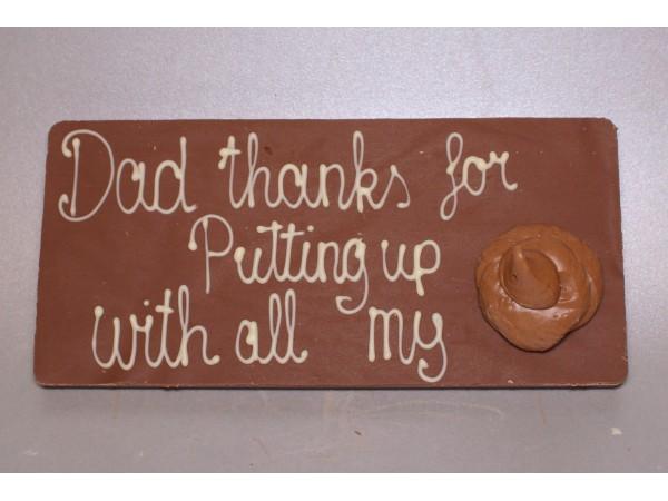 Reep 250 gram Dad thanks