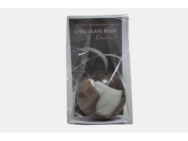 Hot Chocolate Bomb Karamel