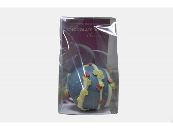 Hot Chocolate Bomb Unicorn Blauw