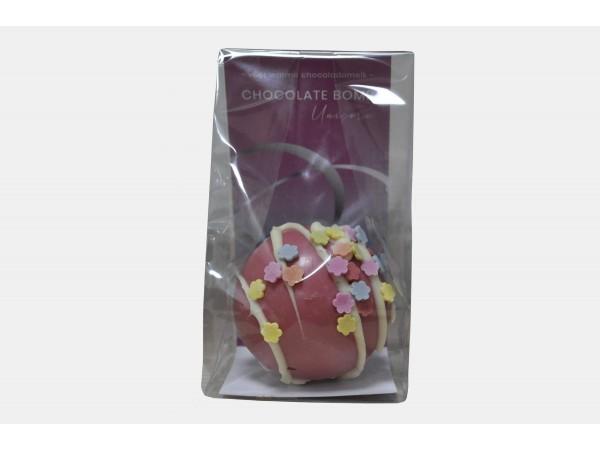 Hot Chocolate Bomb Unicorn Roze