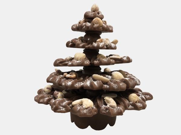 Kerstboom Gespoten