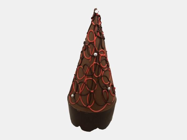 Kerstboom Met Slingers En Parels