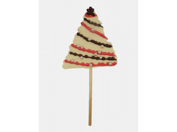 Kerstboom lolly