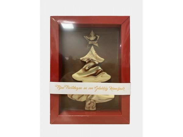 Plaat Met Kerstboom