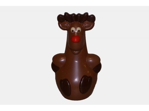 Rudolf zittend
