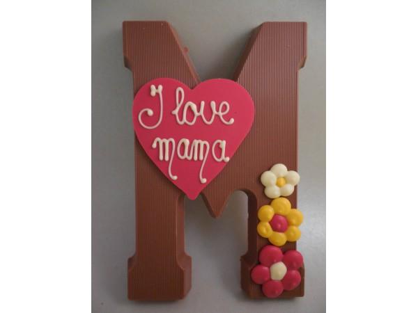 Letter M   I love mama