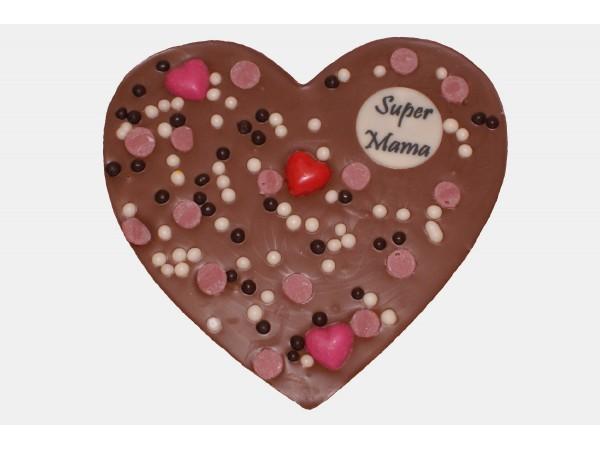 Hart Moederdag Chocolade