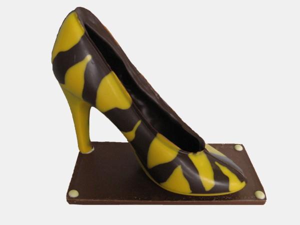 Pump zebra geel