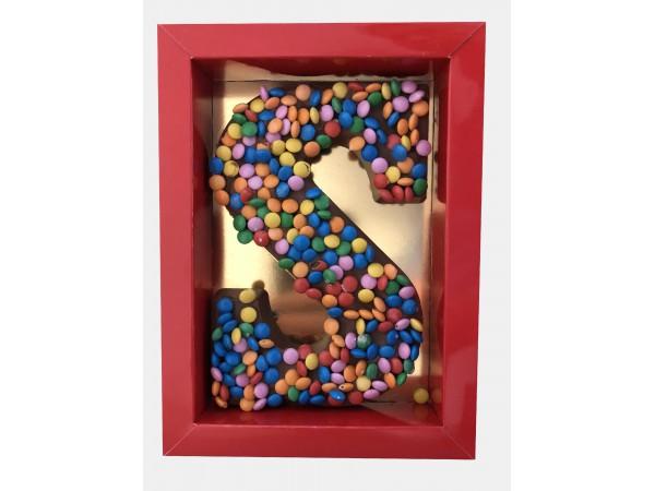 Sinterklaas Letter A - Z, 250 gram smarties
