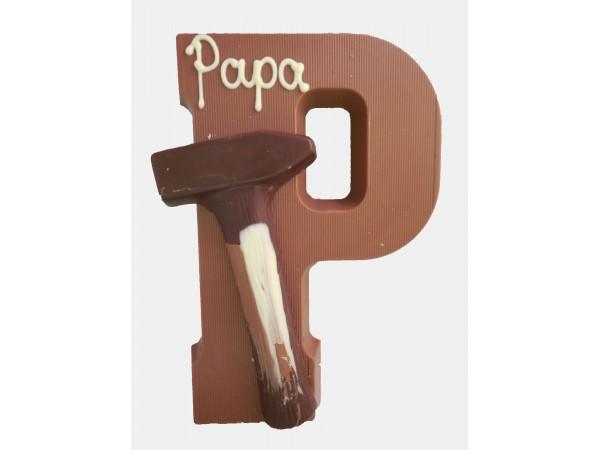 Letter P met gereedschap