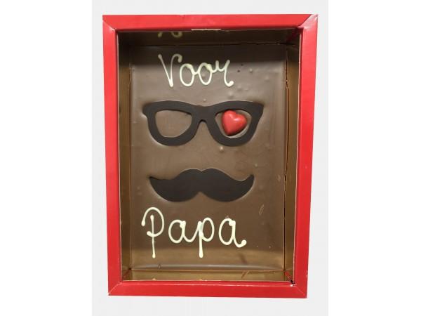 Voor Papa In Rode Doos
