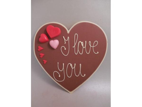 Valentijnshart I Love you