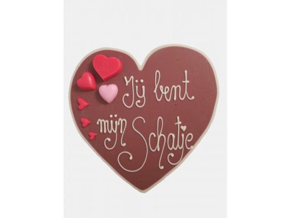 Valentijn hart Jij bent mijn schatje