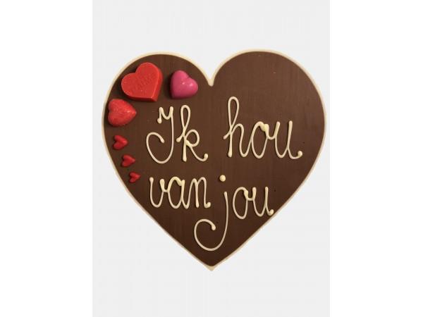 Valentijn hart ik hou van jou