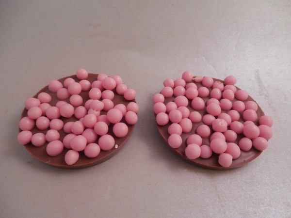 Flikken met aardbeien bolletjes