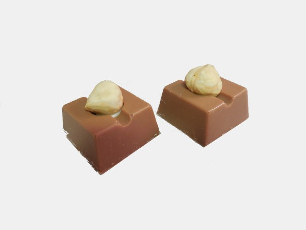 Hazelnoot Crunch bonbon