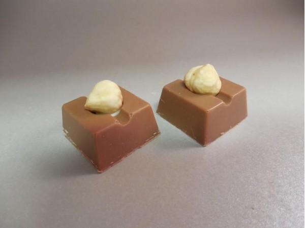 Hazelnoot Crunch bonbon