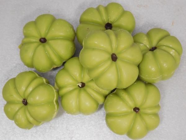 Pompoenen groen