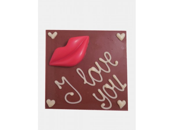 Chocolatebar Lippen / I Love You