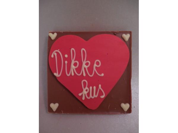 Chocolatebar (hart) Dikke kus