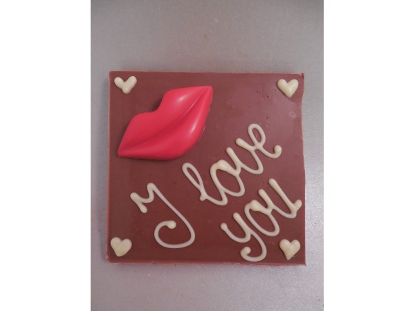 Chocolatebar (lippen) I love you