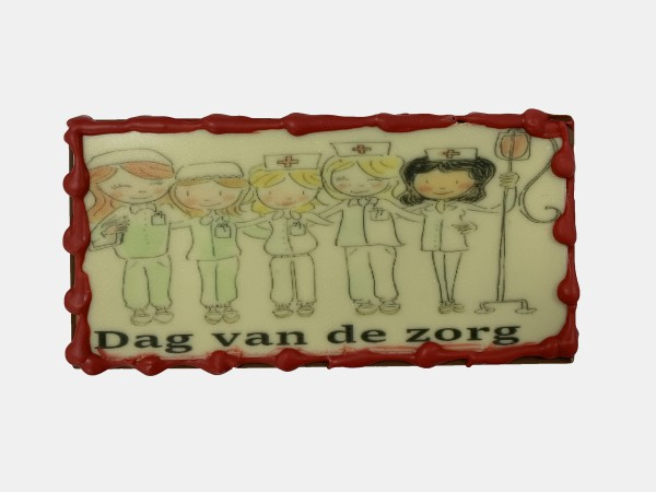 Reep Met Print Dag Van De Zorg