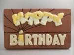 Happy birthday (extra groot)
